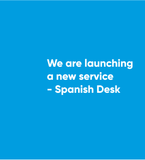 We are launching a new service – Spanish Desk
